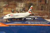 Gemini Jets British Airways A380 with antennas G-XLEB Scale 1/400 GJBAW1500 H