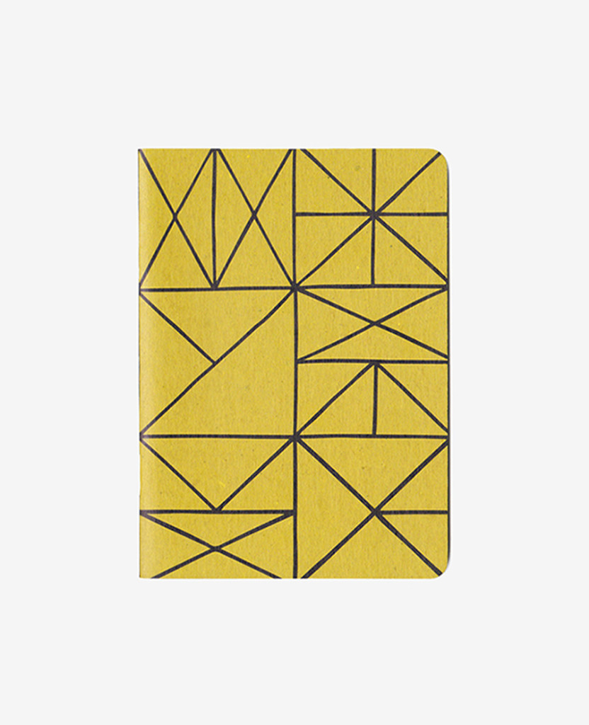 Gold Grid Notebook