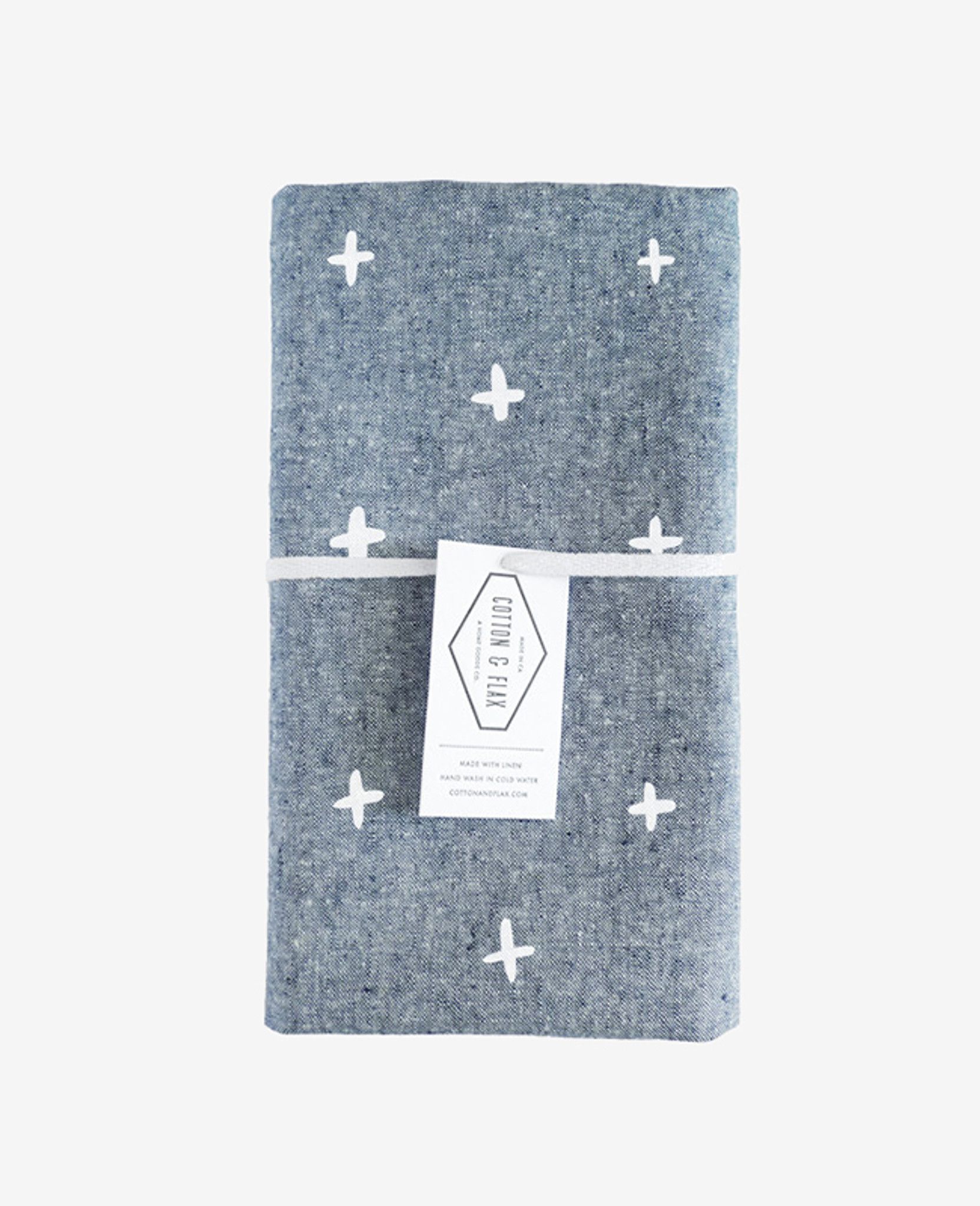 Blue Chambray Plus Tea Towel