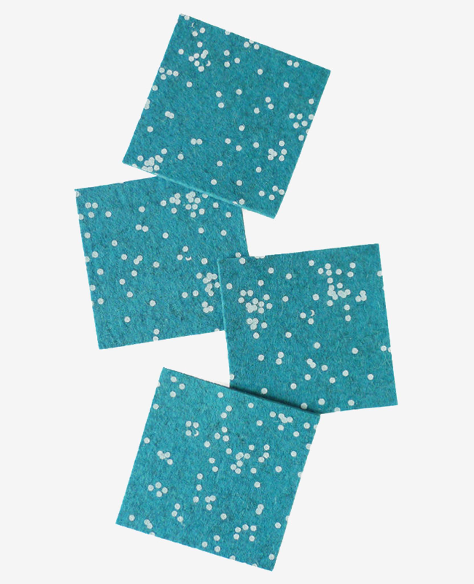 Lagune Confetti Coasters