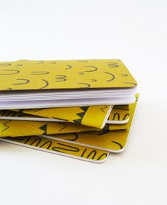 Gold Hills + Valleys Notebook