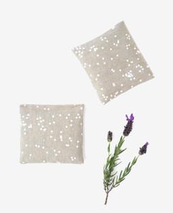 Flax Confetti Lavender Sachet