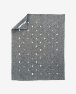 Black Chambray Plus Tea Towel