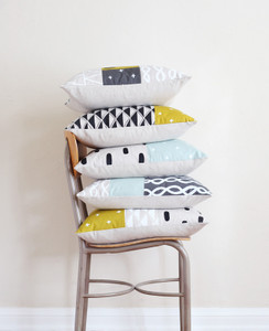 Magic Hour Patchwork Pillow