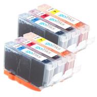 2 Compatible Sets of 3 C/M/Y HP 364 (HP364XL) Printer Ink Cartridges (Colour Set)