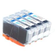 4 Cyan Compatible HP 364C (HP364XL) Printer Ink Cartridges