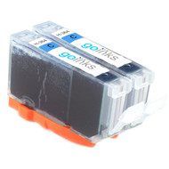 2 Cyan Compatible HP 364C (HP364XL) Printer Ink Cartridges