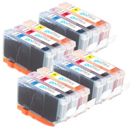 4 Compatible Sets of 3 C/M/Y HP 364 (HP364XL) Printer Ink Cartridges (Colour Set)