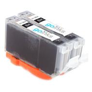 2 Photo Black Compatible HP 364PBk (HP364XL) Printer Ink Cartridges