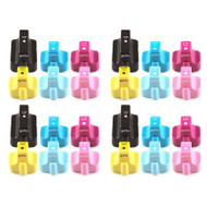 4 Compatible Sets of 6 HP 363 (HP363XL) Printer Ink Cartridges