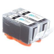 2 Black Compatible HP 364Bk (HP364XL) Printer Ink Cartridges