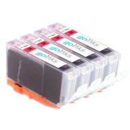 4 Magenta Compatible HP 364M (HP364XL) Printer Ink Cartridges
