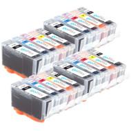 4 Compatible Sets of 5 HP 364 (HP364XL) Printer Ink Cartridges