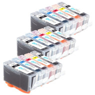 3 Compatible Sets of 5 HP 364 (HP364XL) Printer Ink Cartridges