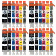 4 Compatible Sets of 6 PGI-570 & CLI-571 Printer Ink Cartridges