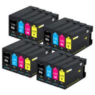 4 Compatible Sets of 4 PGI-1500XL Printer Ink Cartridges