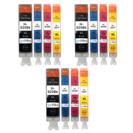3 Compatible Sets of 4 HP 920 (HP920XL) Printer Ink Cartridges