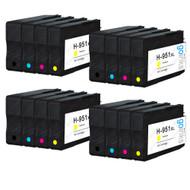 4 Compatible Sets of 4 HP 950 & 951 (HP 950XL & 951XL) Printer Ink Cartridges