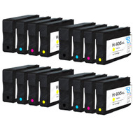 4 Compatible Sets of 4 HP 934 & 935 (HP 934XL & 935XL) Printer Ink Cartridges