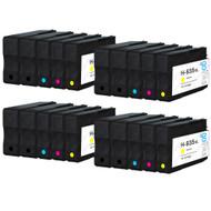4 Compatible Sets of 4 + Extra Black HP 934 & 935 (HP 934XL & 935XL) Printer Ink Cartridges