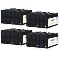 4 Compatible Sets of 4 + Extra Black HP 934 & 935 (HP 934XL & 935XL) Printer Ink Cartridges