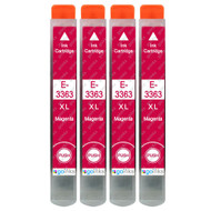 4 Go Inks Magenta Ink Cartridges to replace Epson T3363 (33XL Series) Compatible/ non-OEM for Epson Expression Premium  Printers