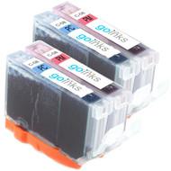 2 Compatible Sets of Canon CLI-8PC & CLI-PM Printer Ink Cartridges (Photo Set)