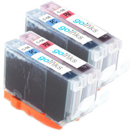 2 Compatible Sets of Canon CLI-8PC & CLI-PM Printer Ink Cartridges (Photo Set)