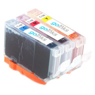 1 Compatible Set of 3 C/M/Y Canon CLI-8 Printer Ink Cartridges (Colour Set)