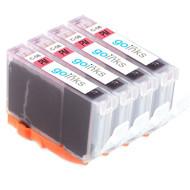 4 Photo Magenta Compatible Canon CLI-8PM Printer Ink Cartridges