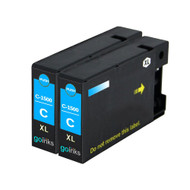 2 Cyan Compatible Canon PGI-1500XLC Printer Ink Cartridges
