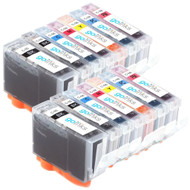 2 Compatible Sets of 7 Canon PGI-5 & CLI-8 Printer Ink Cartridges