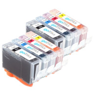 2 Compatible Sets of 4 Canon PGI-5 & CLI-8 Printer Ink Cartridges