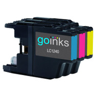 1 C/M/Y Colour Set of Compatible Brother LC1240 / LC1220 Printer Ink Cartridges