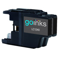 2 Black Compatible Brother LC1240 / LC1220 Printer Ink Cartridges