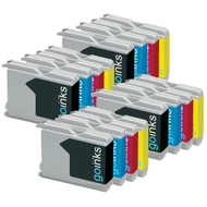 4 Sets of Compatible Brother LC970 / LC1000 Printer Inks Cartridges