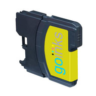 1 Yellow Compatible Brother LC980 / LC1100 Printer Ink Cartridge