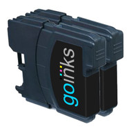 2 Black Compatible Brother LC980 / LC1100 Printer Ink Cartridges