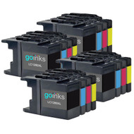 4 Sets of XL Compatible Brother LC1280 Printer Inks Cartridges