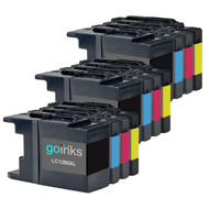 3 Sets of XL Compatible Brother LC1280 Printer Inks Cartridges