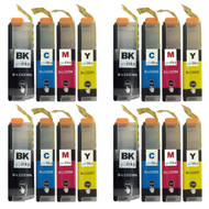 4 Sets of XL Compatible Brother LC223 Printer Inks Cartridges