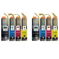 2 Sets of XL Compatible Brother LC223 Printer Inks Cartridges