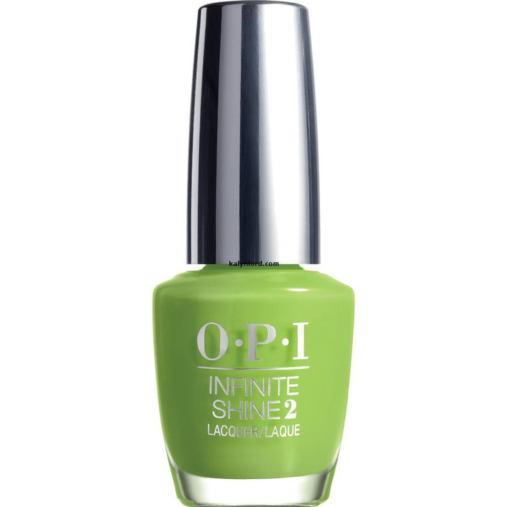 OPI Infinite Shine to the Finish Lime