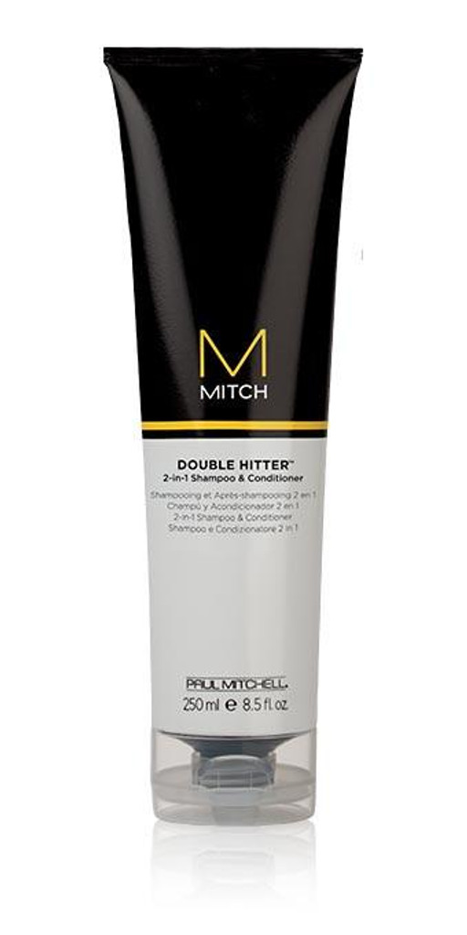 Mitch Double Hitter 2 in 1 Shampoo and Conditioner 8.5 oz