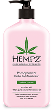 Pomegranate Herbal Moisturizer 17oz