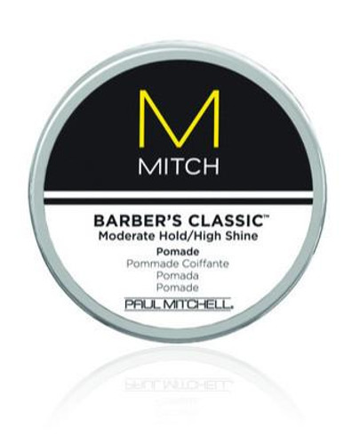Barber's Classic Moderate Hold/High Shine Pomade 3 oz