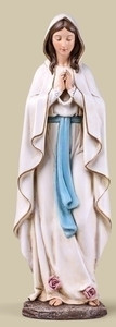 "13.5"" Our Lady of Lourdes Statue"