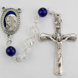 Crystal & Blue Rosary