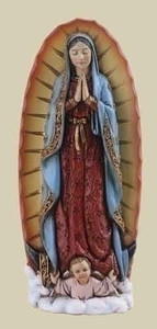 "4"" Our Lady of Guadalupe"
