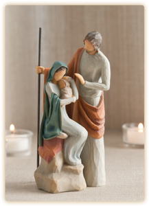 Holy Family Willow Tree® Figure